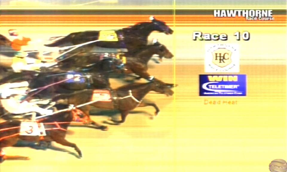 Triple dead heat in race 10 at Hawthorne on 01/07/2018