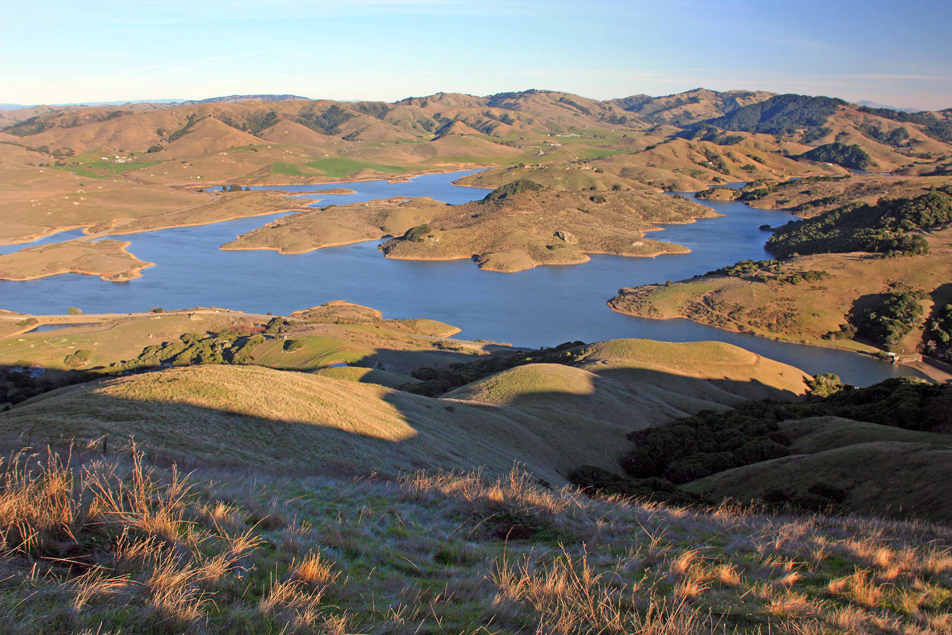Nicasio Reservoir - Marin County, CA